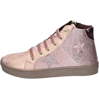 Sapatos Rapariga Sapatilhas Asso BK216 Cor de rosa