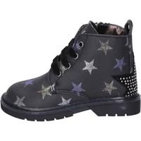 Sapatos Rapariga Botins Asso BK218 Preto