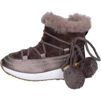 Sapatos Rapariga Botins Asso BK220 Bege