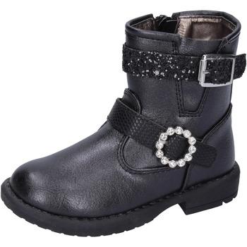 Sapatos Rapariga Botins Asso BK221 Preto