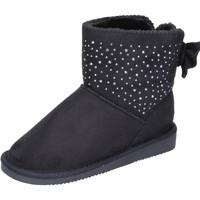 Sapatos Rapariga Botins Asso BK232 Preto