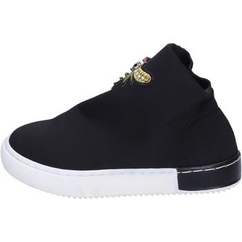 Sapatos Rapariga Sapatilhas Joli BK237 Preto