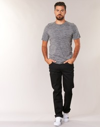 Textil Homem Calças Jeans Lee BROOKLYN STRAIGHT Preto