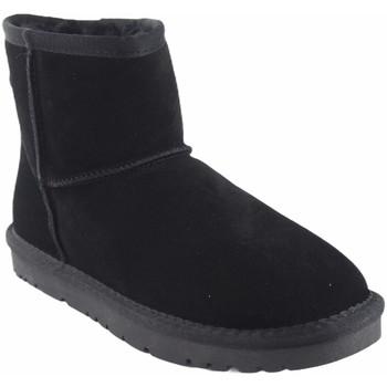 Sapatos Mulher Botas de neve Kelara K01208 Negro
