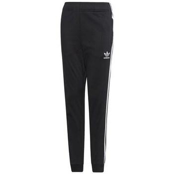 Textil Criança Calças de treino adidas Originals Junior Superstar Pants Preto