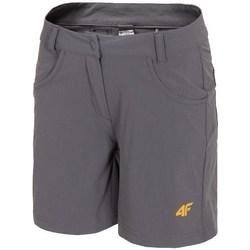 Textil Mulher Shorts / Bermudas 4F SKDF060 Cinzento