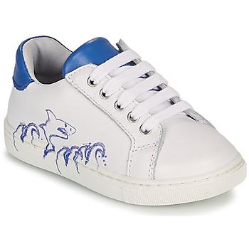 Sapatos Rapaz Sapatilhas GBB KARAKO Branco
