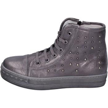 Sapatos Rapariga Sapatilhas de cano-alto Eb Sneakers BK245 Cinza