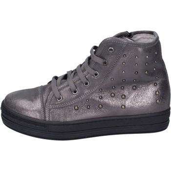 Sapatos Rapariga Sapatilhas de cano-alto Eb Sneakers BK246 Cinza