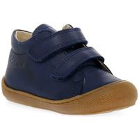 Sapatos Rapaz Sapatilhas Naturino 0C02 COCOON VL NAPPA NAVY Blu