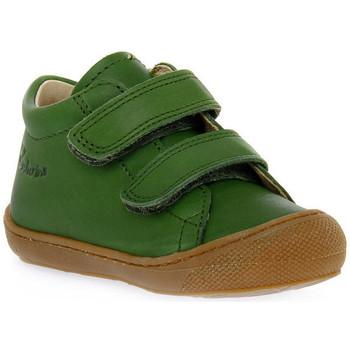 Sapatos Rapaz Sapatilhas Naturino F06 COCOON VL NAPPA KAKY Verde