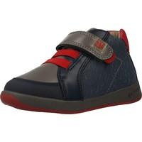 Sapatos Rapaz Sapatilhas de cano-alto Garvalin 201332 Azul