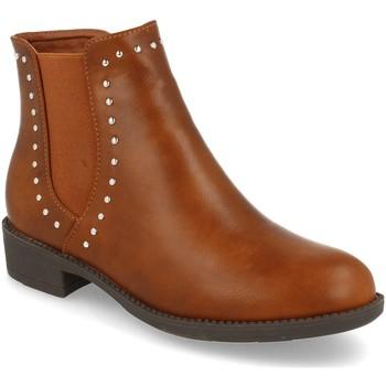Sapatos Mulher Botins Prisska BB1070 Camel