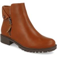 Sapatos Mulher Botins Prisska JSZ1052 Camel