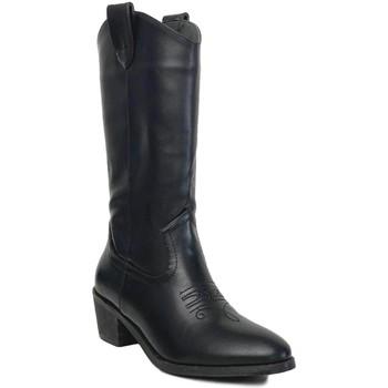 Sapatos Mulher Botas Prisska TY1036 Negro