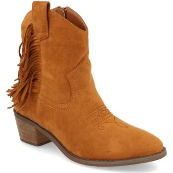 Sapatos Mulher Botins Prisska TY1038 Camel