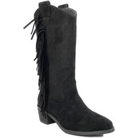 Sapatos Mulher Botas Prisska TY1039 Negro