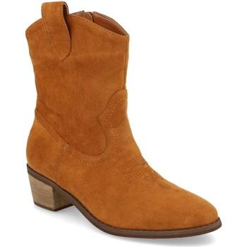 Sapatos Mulher Botins Prisska TY1060 Camel