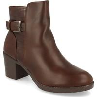 Sapatos Mulher Botins Prisska YC8350 Marron