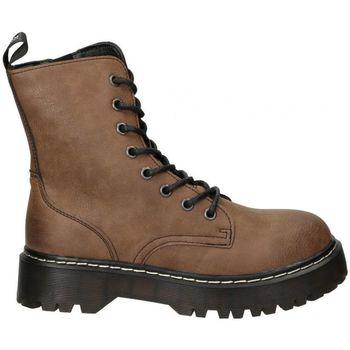 Sapatos Mulher Botins Emmshu BOTINES  CARDY MODA JOVEN CUERO Marron