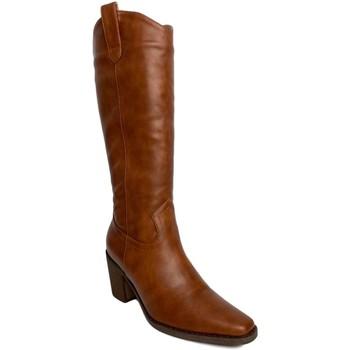 Sapatos Mulher Botas Priskka TY-1068 Camel