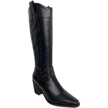 Sapatos Mulher Botas Priskka TY-1068 Negro