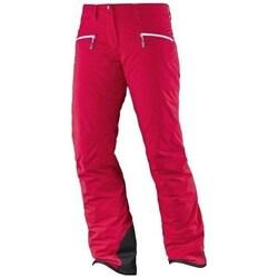 Textil Mulher Calças Salomon Whitecliff Gtx W Vermelho