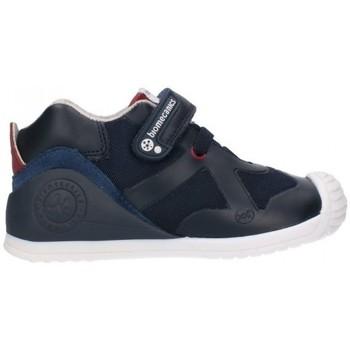 Sapatos Rapaz Botas Biomecanics 191168 Niño Azul marino bleu