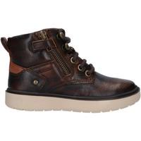 Sapatos Rapaz Botas Geox J947SA 0JHMW J RIDDOCK Marr?n