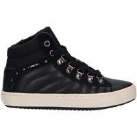 Sapatos Rapariga Botins Geox J944GH 05422 J KALISPERA Negro
