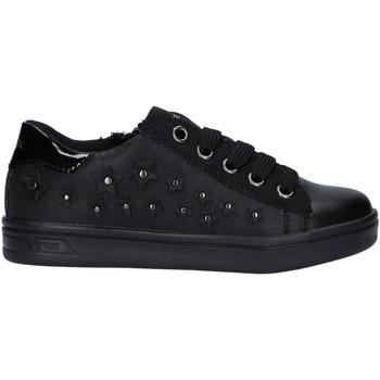 Sapatos Rapariga Sapatilhas Geox J944MF 0HS54 J DJROCK Negro