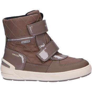 Sapatos Rapariga Botas Geox J949SD 0FU50 J SLEIGH B ABX Beige