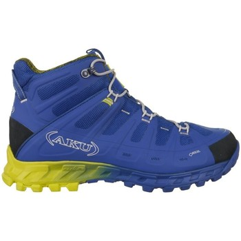 Sapatos Homem Sapatos de caminhada Aku Selvatica Mid Gtx Goretex Azul, Amarelo