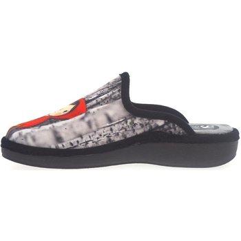 Sapatos Homem Chinelos Salvi Zapatillas de Casa  01T 362 Negro Preto