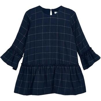 Textil Rapariga Vestidos curtos Mayoral  Azul