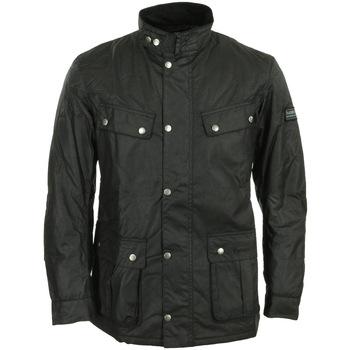 Textil Homem Parkas Barbour International Duke Wax Jacket Preto