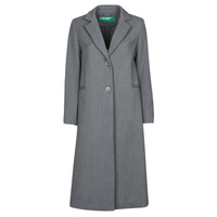 Textil Mulher Casacos Benetton  Cinza