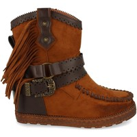 Sapatos Mulher Botins Tephani 1976A Camel