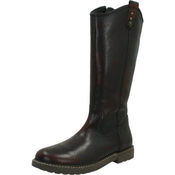 Sapatos Rapariga Botas Geox J ECLAIR G.E Marron
