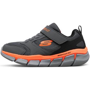 Sapatos Rapaz Sapatilhas Skechers - Flex 3.0 tur grigio 97636L CCBK GRIGIO