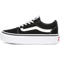 Sapatos Rapaz Sapatilhas Vans - Ward platform nero VN0A4UUV1871 NERO