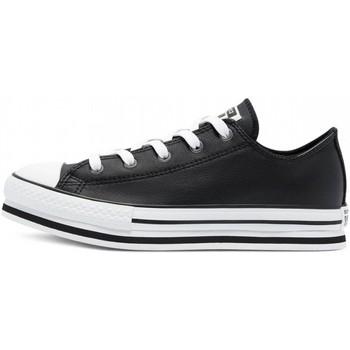 Sapatos Rapaz Sapatilhas Converse - Ct as eva lift ox nero 669710C NERO