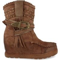Sapatos Mulher Botins Ainy 9706 Kaki