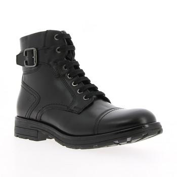 Sapatos Homem Botas baixas André ROCKY Preto