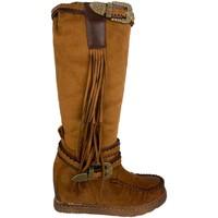 Sapatos Mulher Botas Ainy 4735 Camel