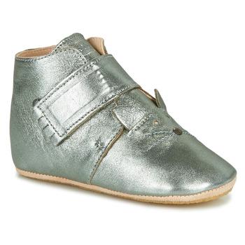 Sapatos Criança Chinelos Easy Peasy KINY CHAT MOU GRIS VERT MOU/PATIN