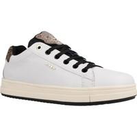 Sapatos Rapariga Sapatilhas Geox J REBECCA GIRL Branco