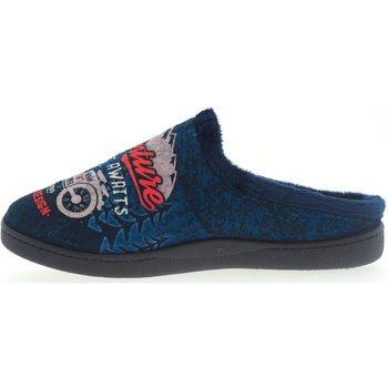 Sapatos Homem Chinelos Roal Zapatillas De Casa  12229 Moto Marino Azul