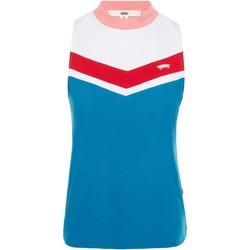 Textil Mulher Tops sem mangas Vans T-Shirt  WM Invert Tank Blues Sapphire