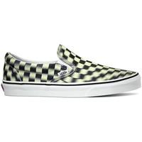 Sapatos Slip on Vans Ua Classic Slip-On (Blur Check) Black/Classic